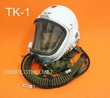 RARE Flight Helmet High Altitude Astronaut Space Pilots Pressured TK-1 1# XXL