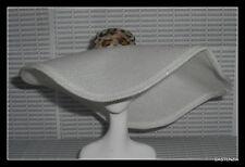 ACCESSORY MATTEL BARBIE DOLL DAY IN THE SUN LARGE BRIM CLOTH LEOPARD TRIM HAT