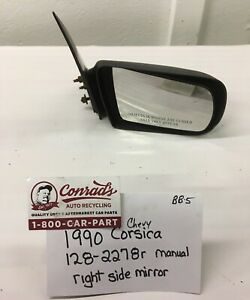 USED Vintage Chevrolet Corsica 1990' Right side view mirror (drivers Quality)