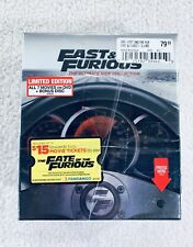 Fast And Furious: The Ultimate Ride Collection DVD 7 movies 7 films NEW Sealed