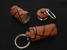 """High Quality Metal Waterproof Smell Proof Pill Stash Container """"Basketball"""""""