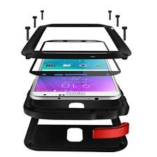 Samsung Galaxy Note 4 SM-N910 LOVE MEI extérieur Coque Gorilla - verre