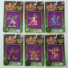 6  MIGHTY MORPHIN POWER RANGERS Collectible Figures  Series 2 Set  BANDAI  1995