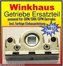 Winkhaus Getriebe passend f. GRM, GRK, GPM Beschlag, Ersatzteil Schneckengehäuse