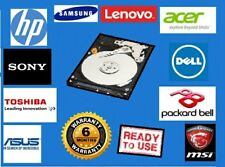 "2.5"" SATA Internal Laptop Hard Drive Disk HDD with Windows 10 Pre Installed"
