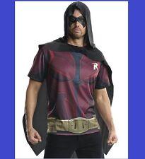 Robin Halloween Costume Rubie's Costume Men Batman Arkham City Adult Medium Top
