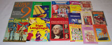 Lot 14 Homeschooling Resource Books for Reading, Writing, Math, and History