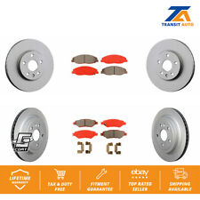 2 Front /& Rear Brake Pads 12.4 Inch 315MM Ceramic Pads JE5 for 08-14 CTS