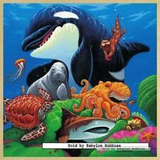 49 pcs jigsaw puzzle: Wooden Puzzles - Undersea Friends (Fish) - Masterpieces