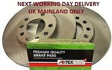 VAUXHALL ASTRA J 2009    REAR DISCS AND PADS WITH FITTED ANTI SQUEAL SHIMS