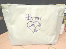 1 TOTE Bag NURSE DR RN LPN CNA  HOSPITAL MEDICAL work GIFT MA NURSES PA