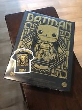 FUNKO POP! GOLD CHROME BATMAN #144 -TARGET EXCLUSIVE - XL