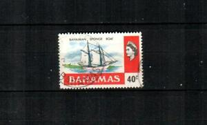 BAHAMAS Scott's 401 ( 1v ) Bahamian Sponge Boat F/VF used ( 1976 )