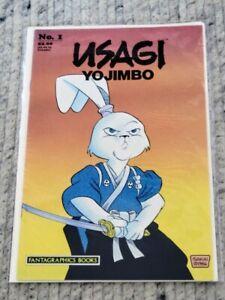 Usagi Yojimbo No. 1 Fantagraphics Books 1986 Sakai