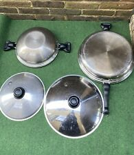 Saladmaster 316Ti Stainless Steel Pan Set 5 Quart And 7Quart Sold Together