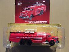 N° 69 BERLIET GBO Camion Pompier Mousse RHONE POULENC ROUSSILLON 1/43 Neuf Boite