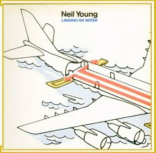 """NEIL YOUNG """" LANDING ON WATER """" LP NUOVO 1986 GEFFEN-WEA ITALY"""