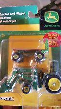 Ertl John Deere Tractor and Wagon 37541