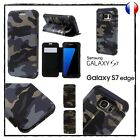 Etui Coque Housse Army Camouflage Case Cover Samsung Galaxy S7 ou S7 Edge