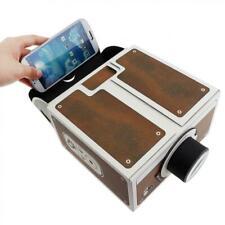 3D Mini Smartphone Projector Light  Adjustable Mobile Phone Projector Portable