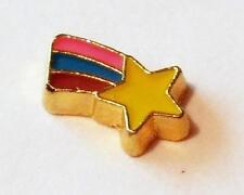 SHOOTING STAR  Gold Floating Charm for Living Memory Lockets B