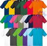T-shirt Uomo/Donna FRUIT OF THE LOOM Maglietta Maniche Corte COTONE Maglia NUOVA