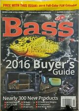 Bass Fishing Dec 2015 Jan 2016 Buyer's Guide 300 New Products FREE SHIPPING sb