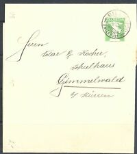 SWITZERLAND 1909-15 A small selection of eleven - 23180