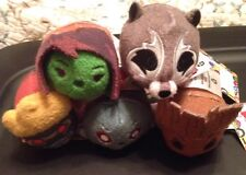"""Guardians Of The Galaxy Disney Mini Tsum -3 1/2""""  New Lot Of 5 From Target"""