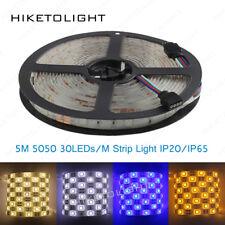 5M 5050 SMD 12V Waterproof 150LED RGB Strip Light String Ribbon Tape Home Party
