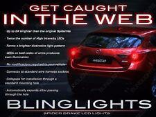 BlingLights White LED Spider Light Bulbs for Mazda3 Sedan & Hatchback Tail Lamps