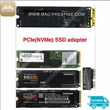 """ ADAPTER SSD PCIE M.2 PCI-E POUR APPLE MACBOOK PRO RÉTINA 13"""" 15"""" A1398 A1502"""