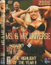 Ms. & Mr. Universe DVD Bodybuilding Fitness, Aikaterini Megalou u.a., Info DVD