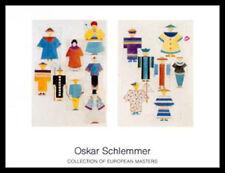 Oskar Schlemmer el ruiseñor 8 figuras póster imagen son impresiones artísticas & Marco 70x90cm