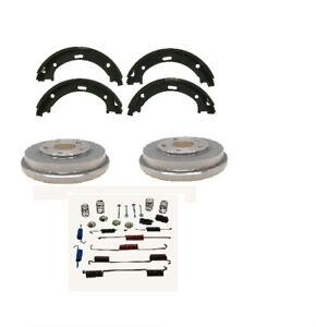 Mazda Protege 1999-2003 Brake Drums Brake Shoes plus Springs