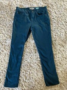 RJR John Rocha Elsa Dark Green Straight Leg Jeans Trousers Size 12S