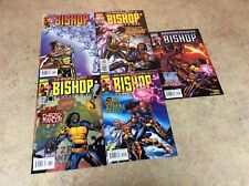 BISHOP THE LAST X-MAN #11,12,13,14,15 LOT OF 5 COMIC NM 2000 MARVEL