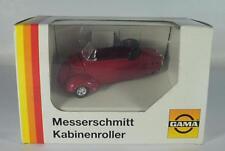 Gama 1/43 Messerschmitt Kabinenroller Cabrio rot OVP #2771
