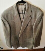 Brooks Brothers Men's Jacket Blazer Beige Blue/Red/Green Plaid • Size 41R