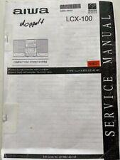 LCX-100 original AIWA HI-FI Anlage Service Manual