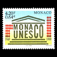 Monaco 1999 - United Nations Educational, Scientific and Education - Sc 2132 MNH