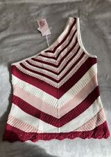 NWT Candie's One Shoulder Top, Pink Colors, Size Small