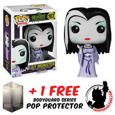 FUNKO POP THE MUNSTERS LILY MUNSTER VINYL FIGURE + FREE POP PROTECTOR