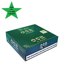 OCB courte double x-pert blue lots de 1 à 400 carnets de feuille
