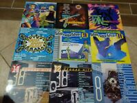 Lot of 15 Reggae Dancehall Compilation Vinyl Album LP Collection Buju, Shabba