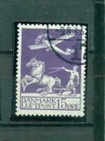 Dänemark,Flugzeug, Nr. 144 gestempelt