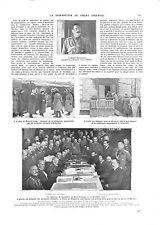 WWI OCTOBER REVOLUTION OCTOBRE Signature Armistice Brest-Litovsk ILLUSTRATION