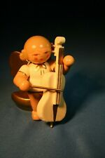 Erzgebirge Ulbricht Musical Angel Germany Christmas Figurine Cello #6
