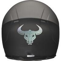 BULL HEAD Motorbike Helmet Sticker Car Decal 100mm x 80mm