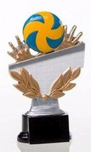 Volleyball-Pokal (Resin-Figur) mit Wunschgravur (39255)